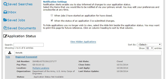 email to ask status of job application