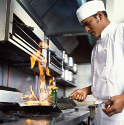 Chefs are just one of the many occupations that use creativity at work.