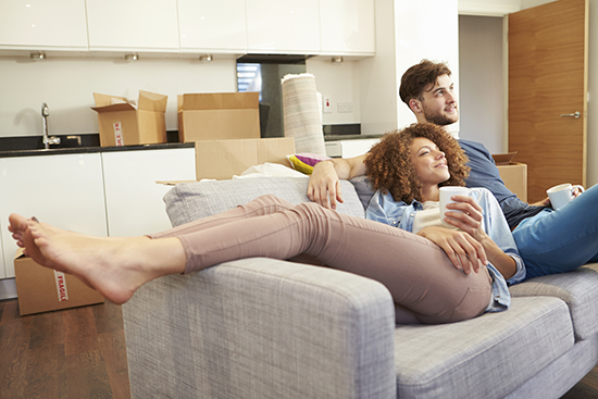 Sharing your space with someone else, such as a romantic partner, can make things more affordable.