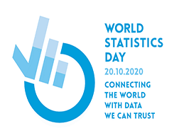 Image of World Statistics Day 2020 banner