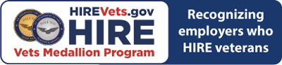 HIREVets.gov HIRE Vets Medallion Program - Recognizing employers who HIRE veterans