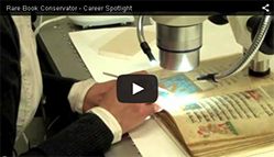 Video on Book Conservator