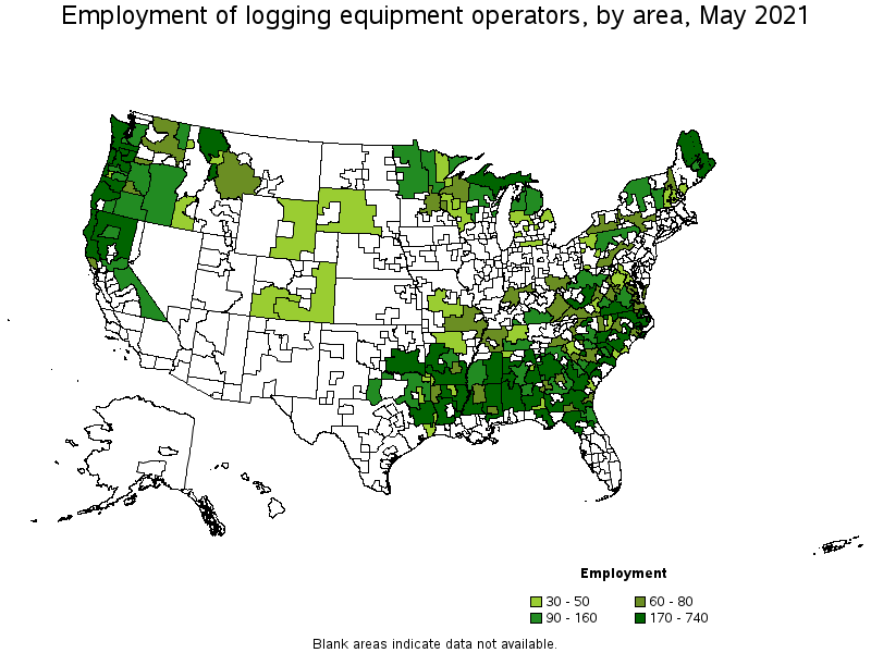 Logging Equipment Operators