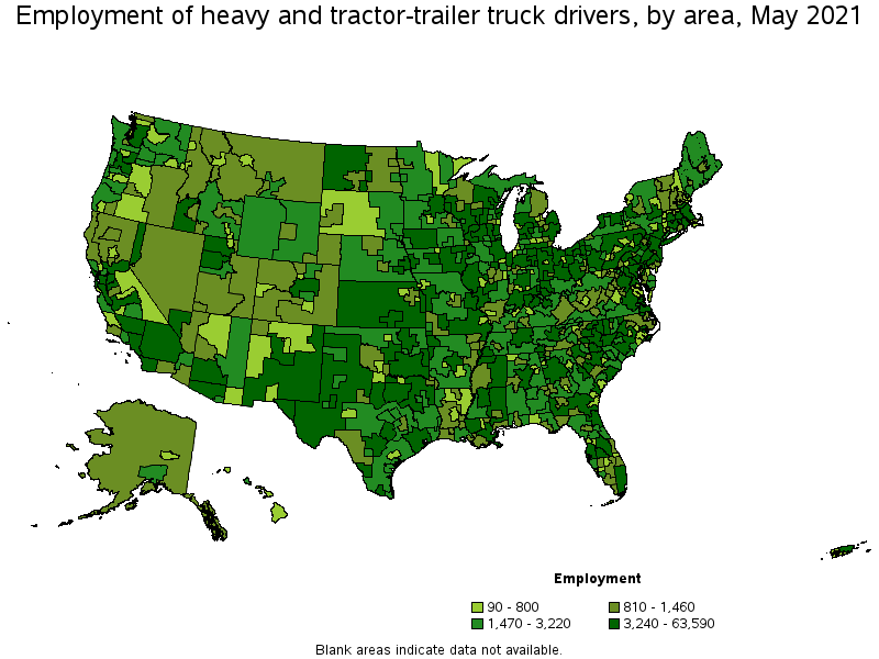 Heavy and TractorTrailer Truck Drivers