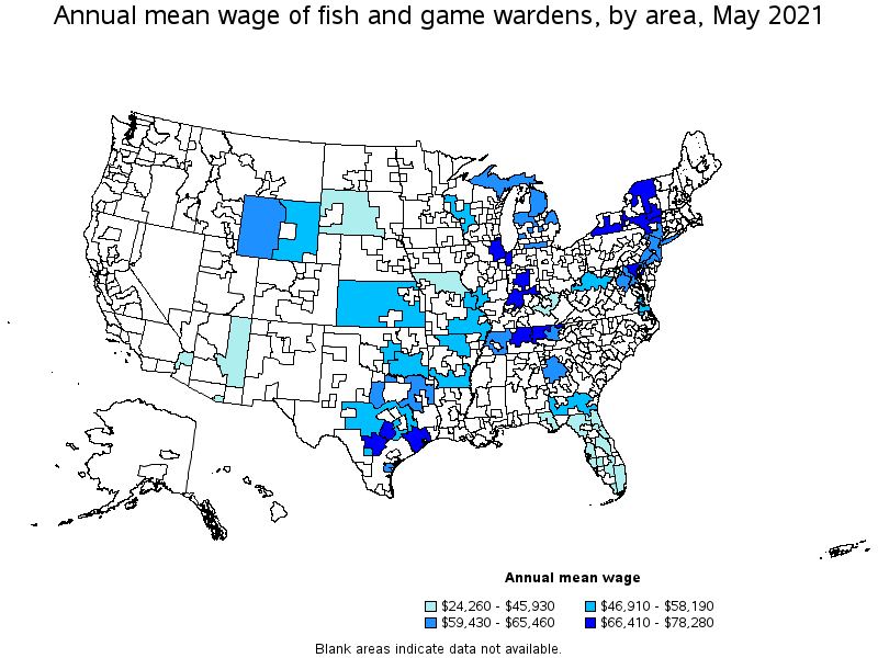Texas fish and game warden salary for Texas game and fish