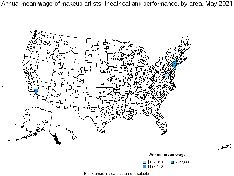 Top paying metropolitan areas for this occupation: