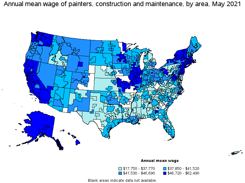 Top Paying Metropolitan Areas For This Occupation
