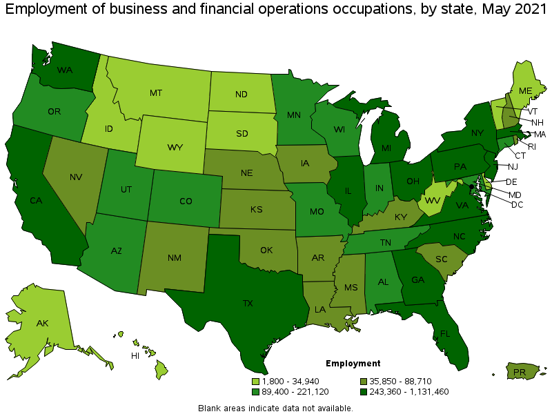 Business and Financial Operations Occupations