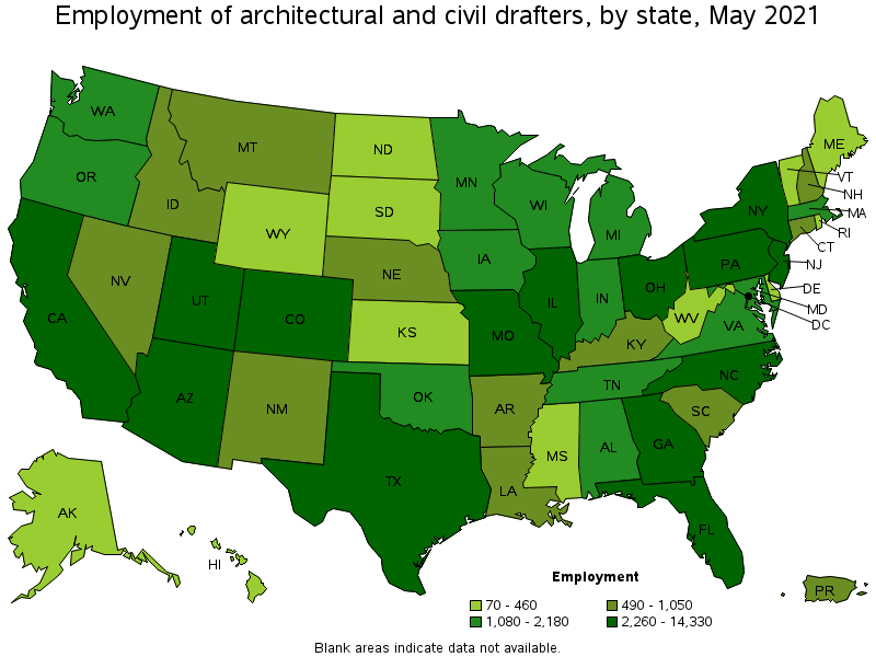 Architectural And Civil Drafters