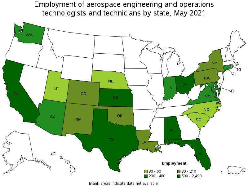 aerospace engineering and operations technicians