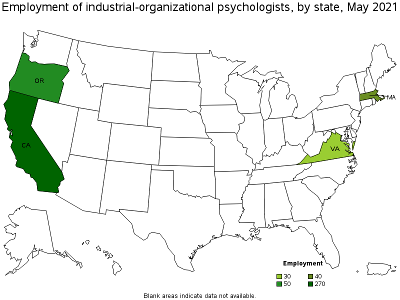Is the job outlook for an Industrial Organizational Psychologist good?