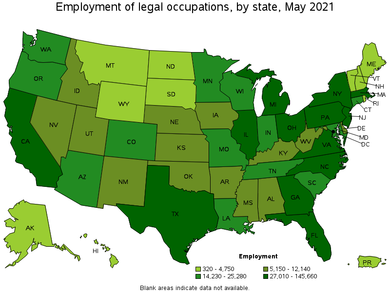 Legal Occupations