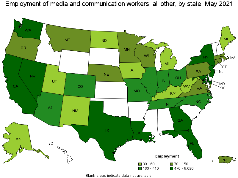 media and communication equipment workers