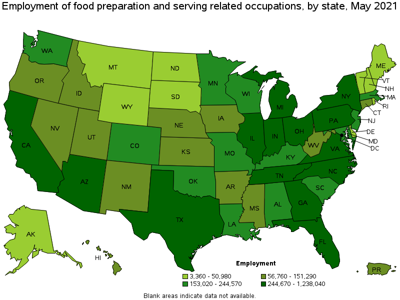 Lovely States And Areas With The Highest Published Employment, Location Quotients,  And Wages For This Occupation Are Provided. For A List Of All Areas With ...