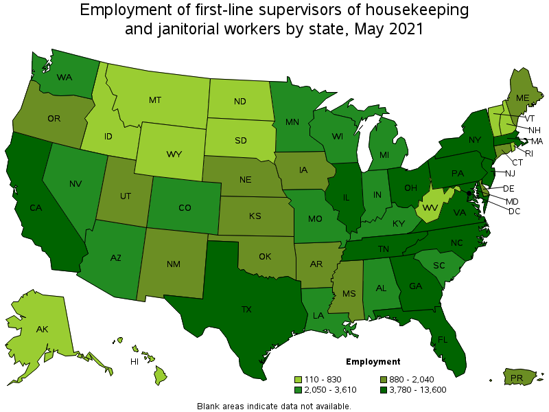 FirstLine Supervisors of Housekeeping and Janitorial Workers – Housekeeping Supervisor Salary
