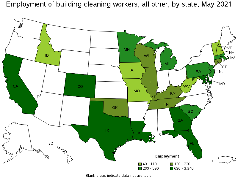 Nice States And Areas With The Highest Published Employment, Location  Quotients, And Wages For