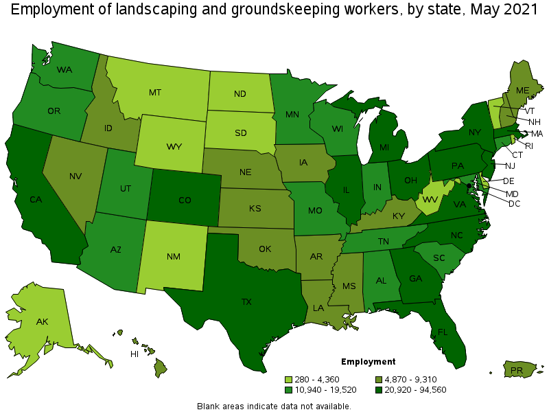 Occupation Overview Jobs Misclandscaping Groundskeeping Workers