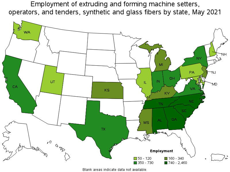 States And Areas With The Highest Published Employment, Location Quotients,  And Wages For This Occupation Are Provided. For A List Of All Areas With ...