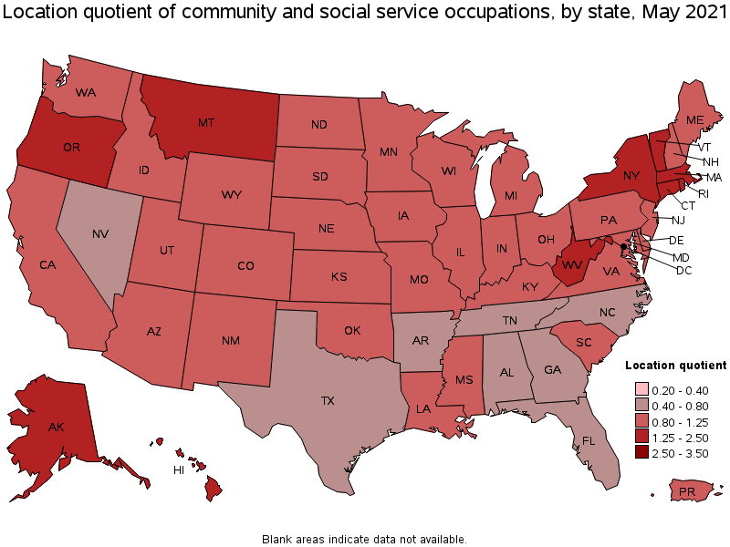 Marvelous States With The Highest Concentration Of Jobs And Location Quotients In  This Occupation: