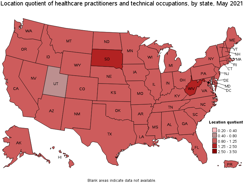 Healthcare Practitioners and Technical Occupations