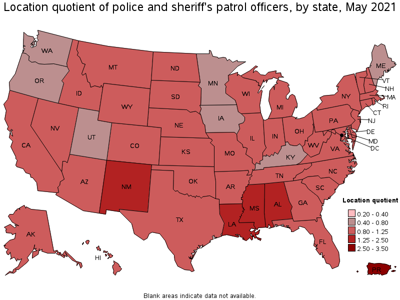 Los Angeles Sales Tax Rate 2017 >> Police and Sheriff's Patrol Officers