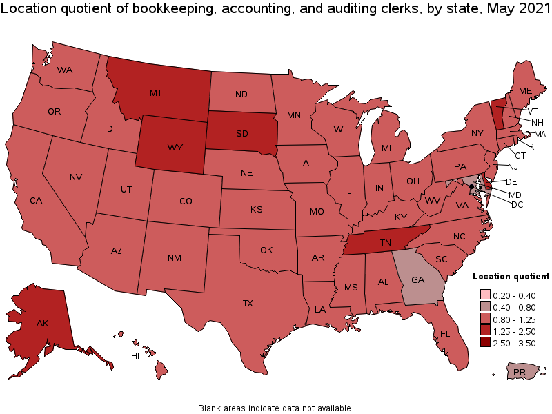 Bookkeeping, Accounting, and Auditing Clerks