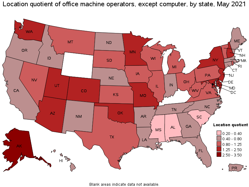 Nice States With The Highest Concentration Of Jobs And Location Quotients In  This Occupation: