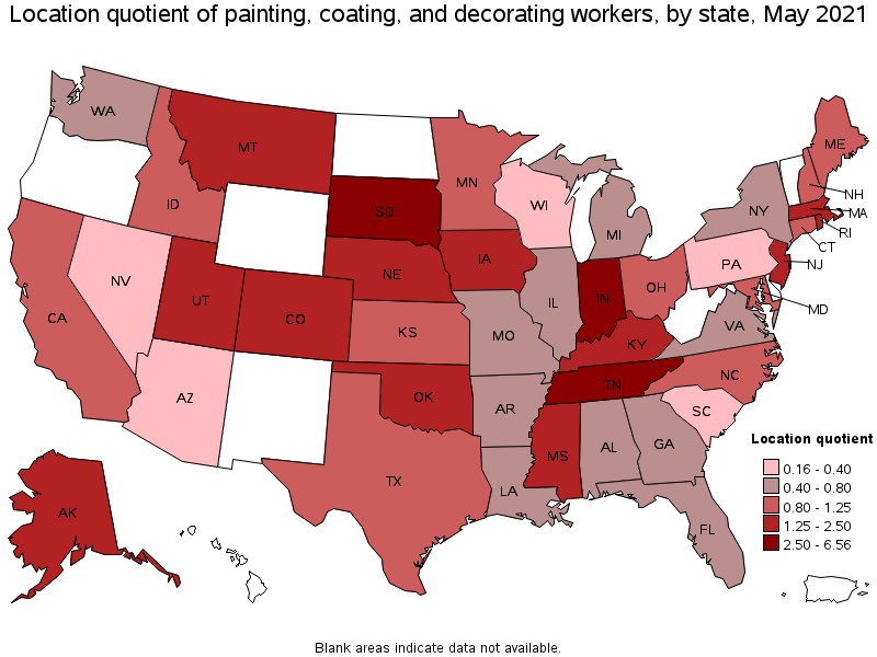 Painting Coating And Decorating Workers