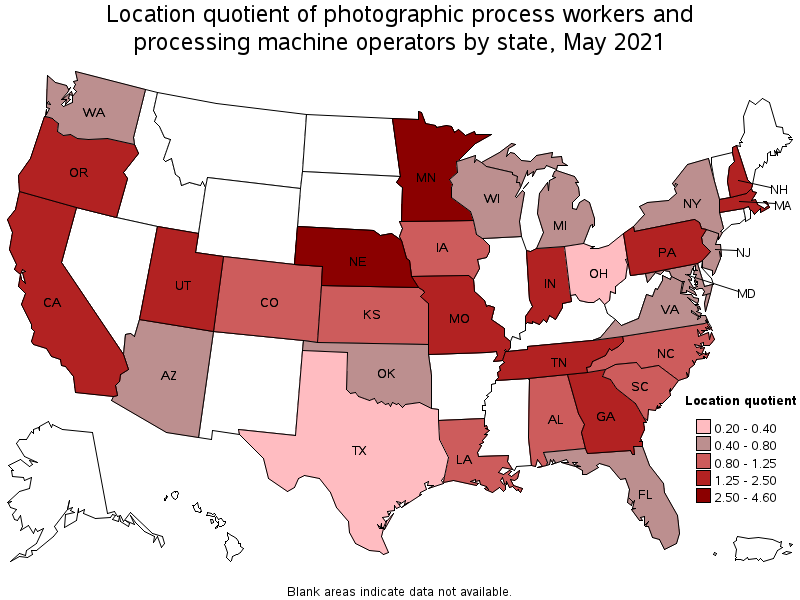 Photographic Process Workers and Processing Machine Operators