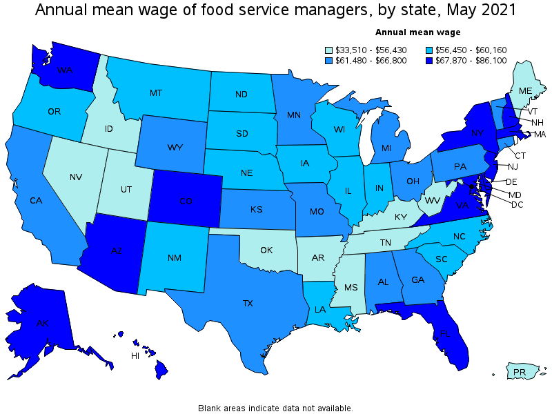 Restaurant Kitchen Manager Salary food service managers