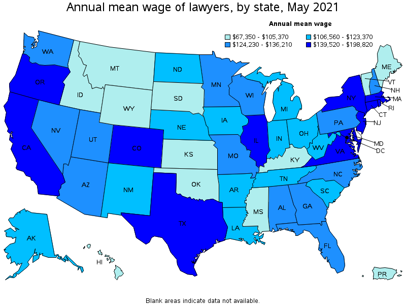 Attorney Salary In Usa