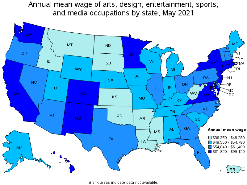 Awesome Top Paying States For This Occupation: