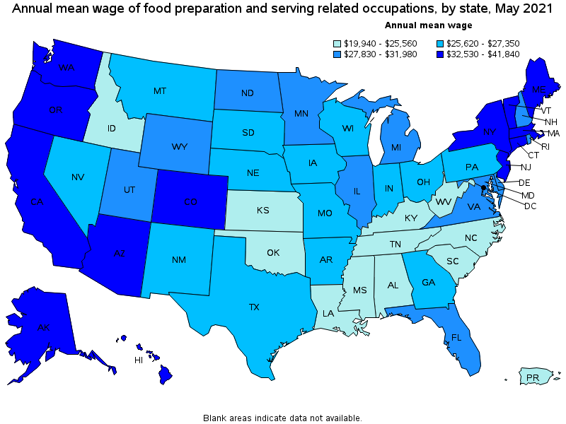 Superb Top Paying States For This Occupation: