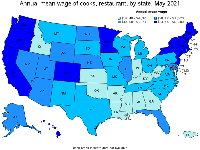 Top Paying States For This Occupation: