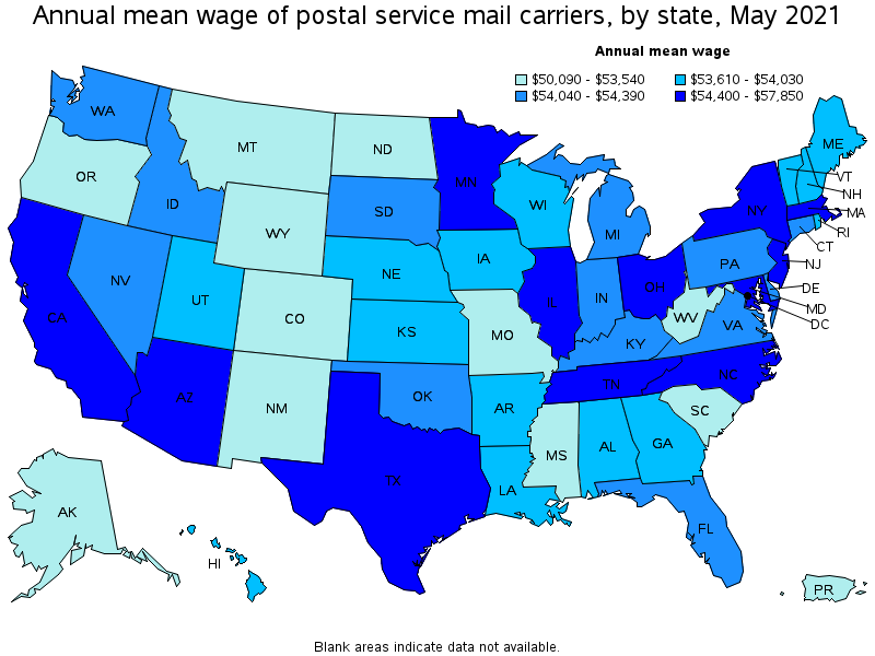 Postal Service Mail Carriers