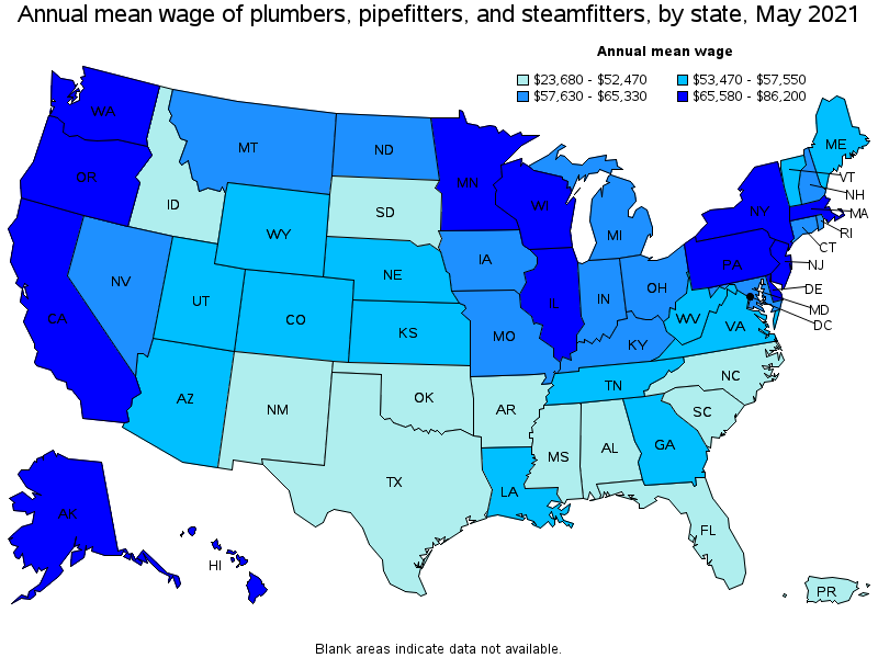 Amazing Top Paying States For This Occupation:
