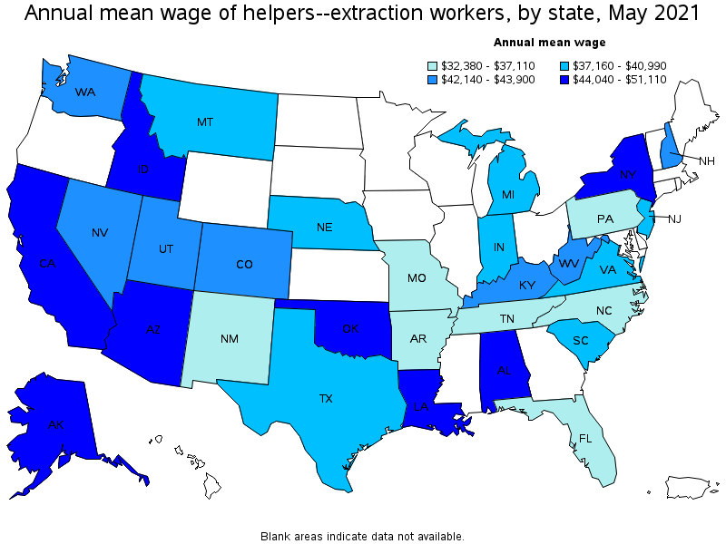 Superior Top Paying States For This Occupation: