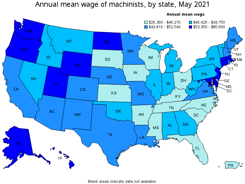 Machinists – Machinist Job Outlook