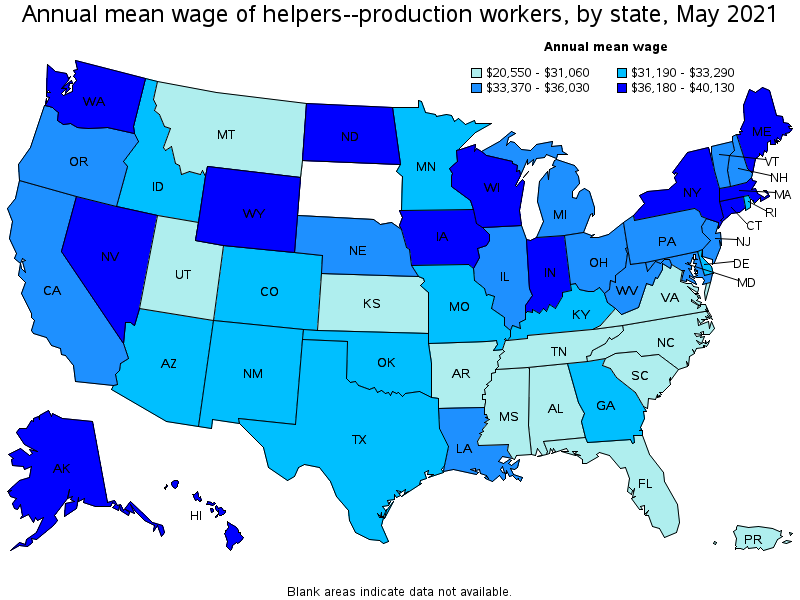 Wonderful Top Paying States For This Occupation: