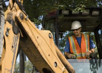 construction equipment operators image