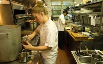 Exceptional Cooks Usually Work In Restaurants.