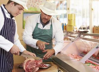 butchers and meat cutters image