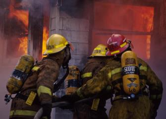 Firefighters   Occupational Outlook Handbook    U S  Bureau of     Bureau of Labor Statistics firefighters image