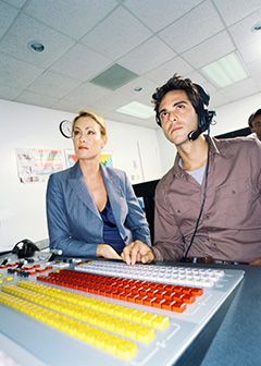 Broadcast and sound engineering technicians