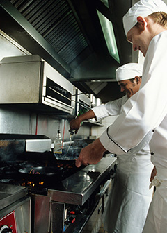 Cooks Typically Learn Their Skills On The Job From An Experienced Chef.