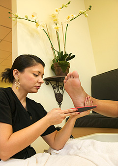 Manicurists and pedicurists