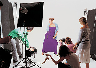 Models May Work In Studios With Photographers And Stylists