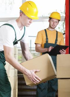 Laborers and material movers