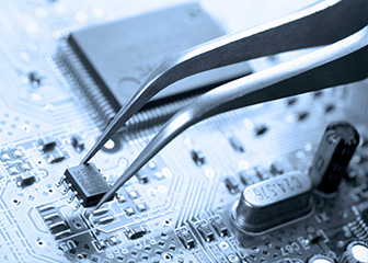 Electrical and electronics engineering technicians are mostly employed