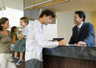 how to become a front office clerk